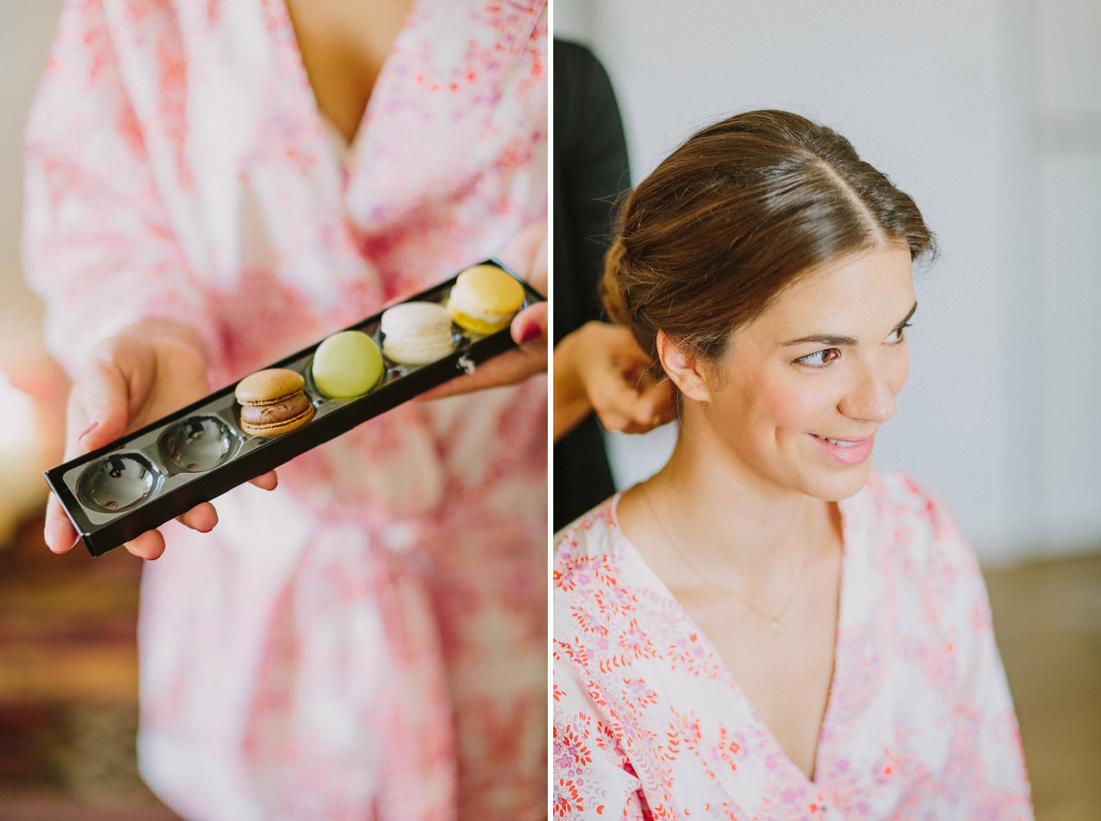 hotel louis bridal getting ready