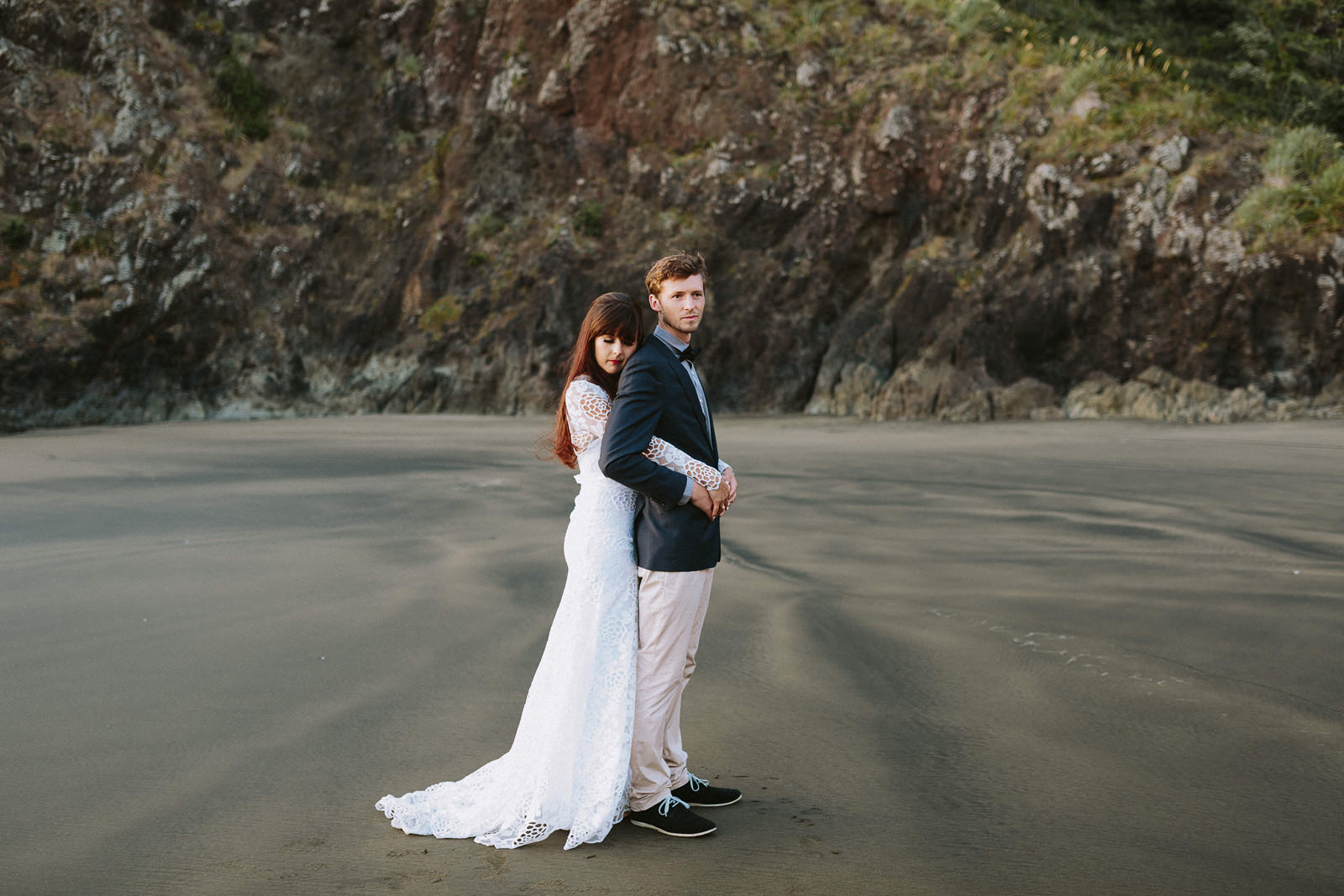 new zealand engagement session