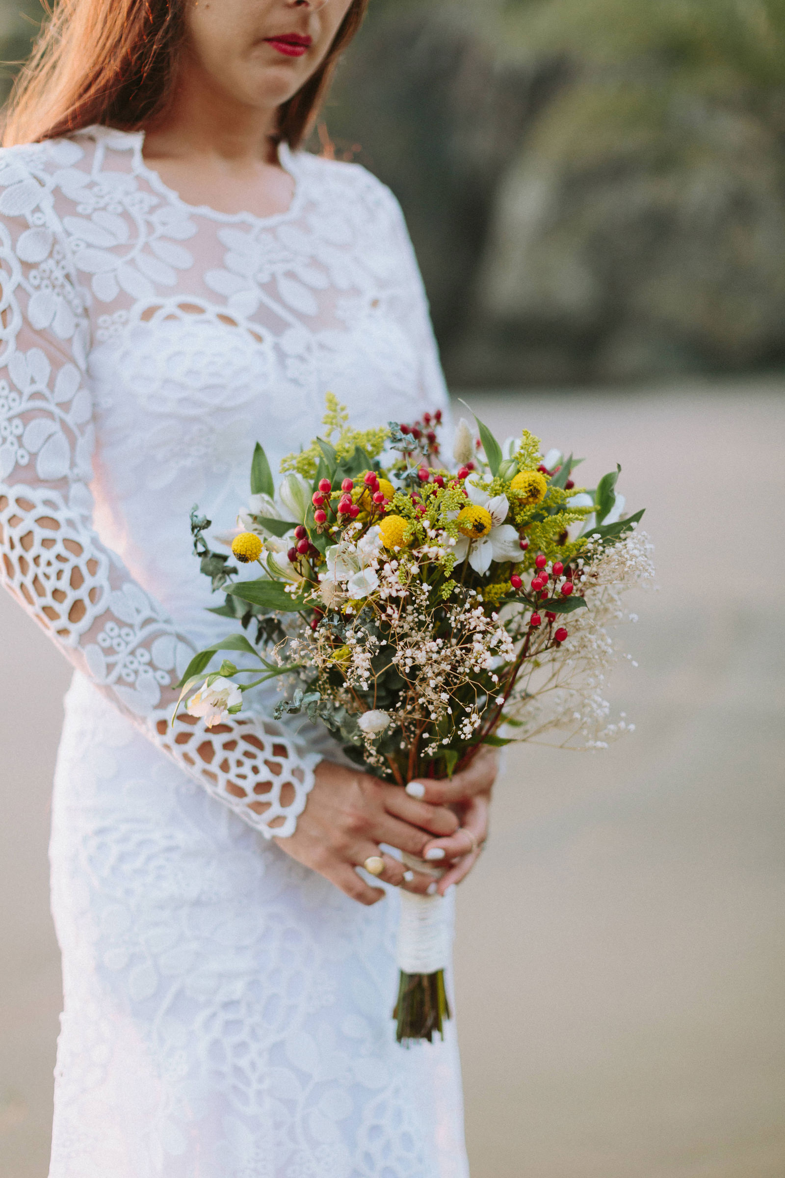 new zealand wedding flowers
