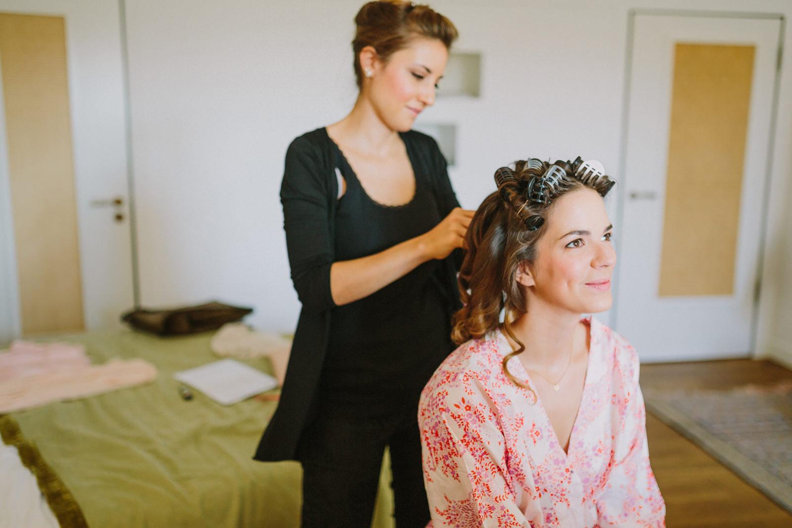 bride getting ready hotel louis munich