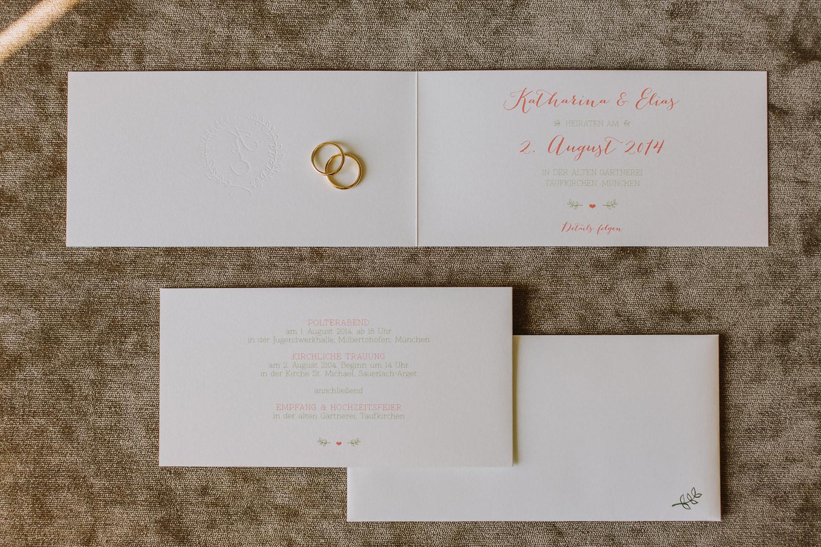 beautiful wedding invitations munich