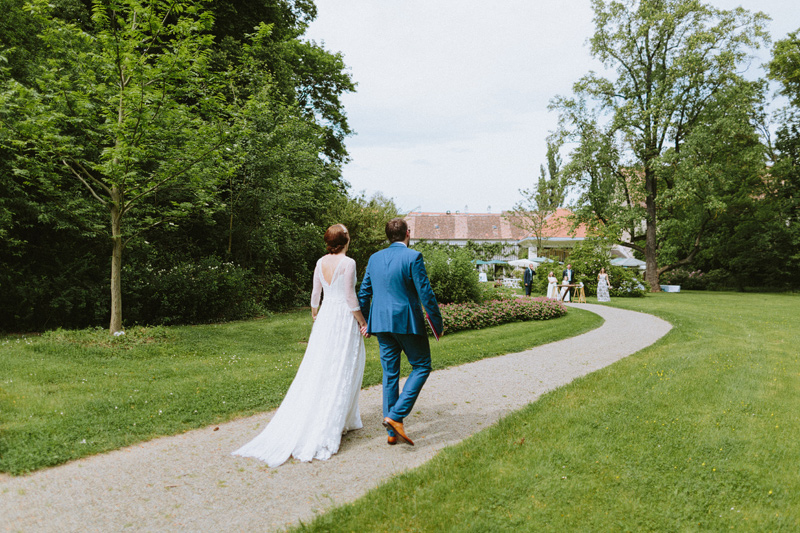 outdoor wedding lower austria