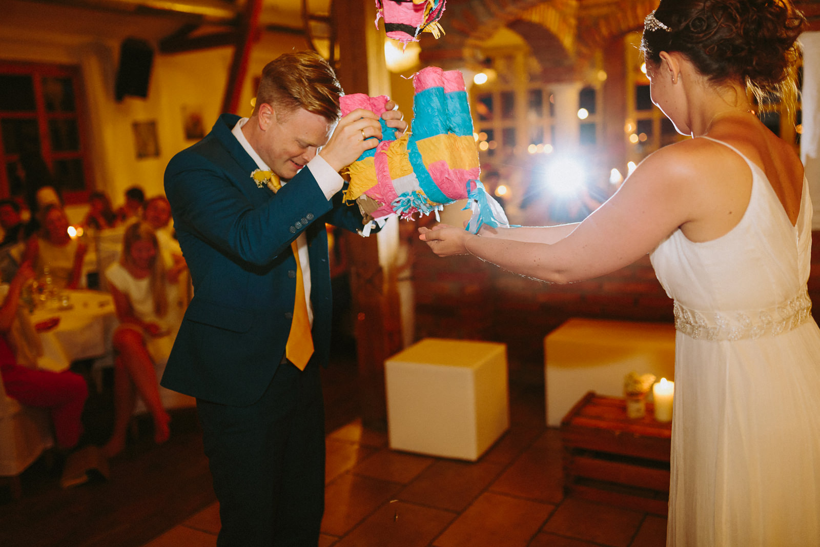 Pinata wedding fun