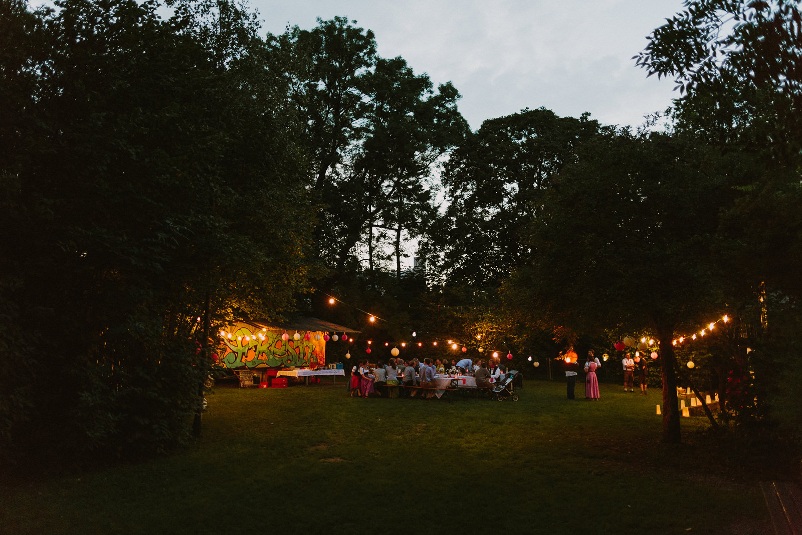 munich wedding gathering