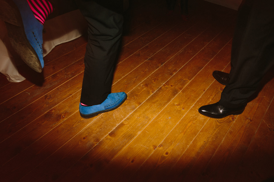 pink socks dancing