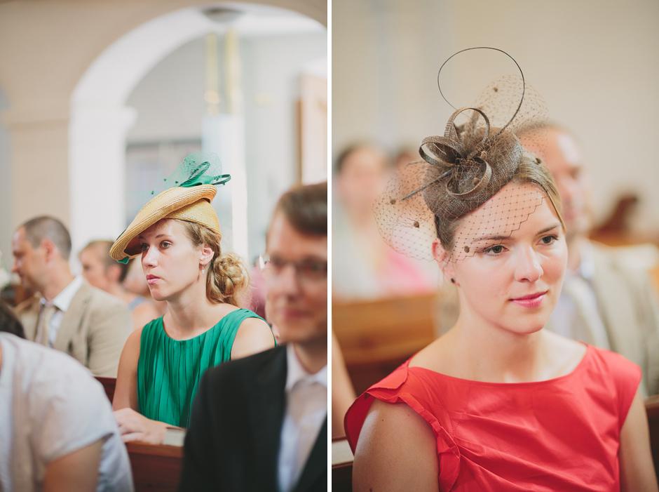 ladies with hats wedding austria