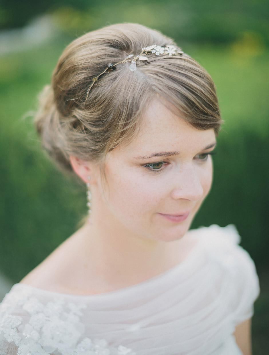 hair piece wedding vienna
