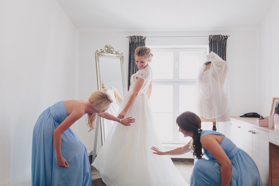 maid of honor preparations
